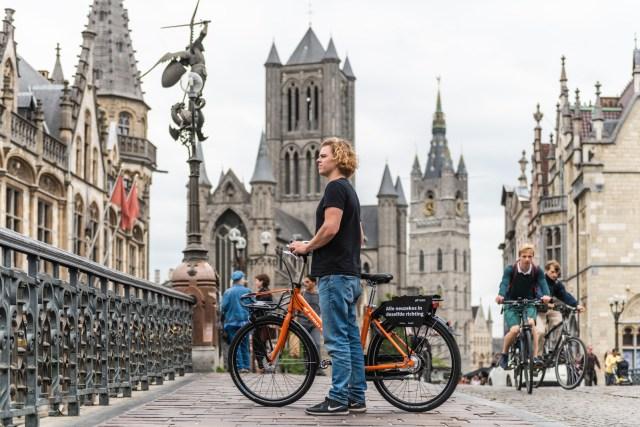 Bike sharing in Ghent