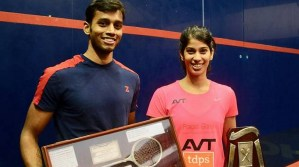 Indian Nationals : 16 for Joshna, a first for Mahesh