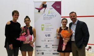 Women's Squash Week : Olivia delivers