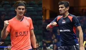 April Rankings : Coll and Ghosal climb, Sherbini closes gap