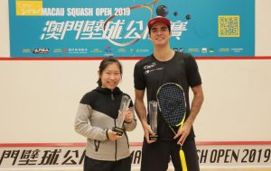 Macau Open : Annie & Diego triumph