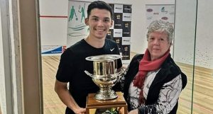 Tasmanian Open : Hat-trick for Victor