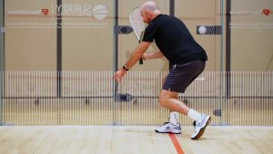 Forehand back corner coaching session with Jesse Engelbrecht