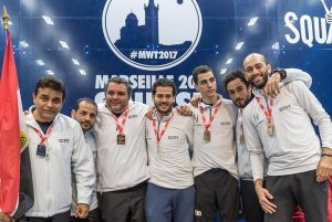 Egypt seeded to retain WSF Men's World Teams title in Washington