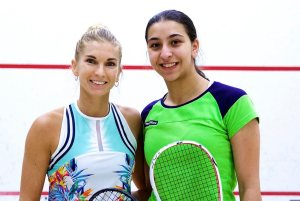 Weymuller Round One : Donna and Farida upset seeds