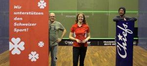 Swiss Women's Open : Home win for Cindy