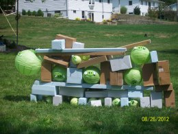 Life size Angry Birds