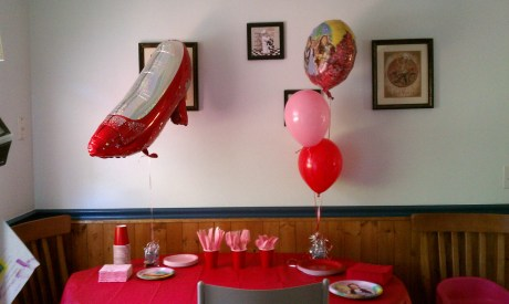 Wizard of Oz birthday party