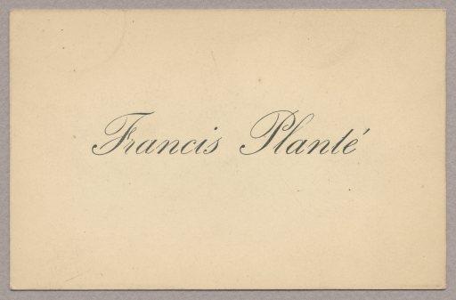 FrancisPlantéCDV
