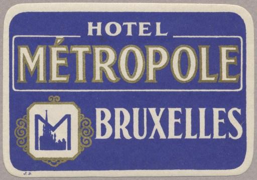 HotelMétropole,Bruxelles copy