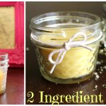 Homemade Candles with 2 Ingredients