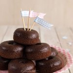 Mini Chocolate Donuts {Baked}