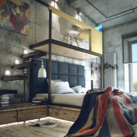 design tuesday : trendy loft apartment