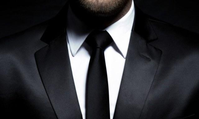 gentleman in tuxedo