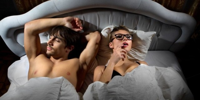 couple after sex