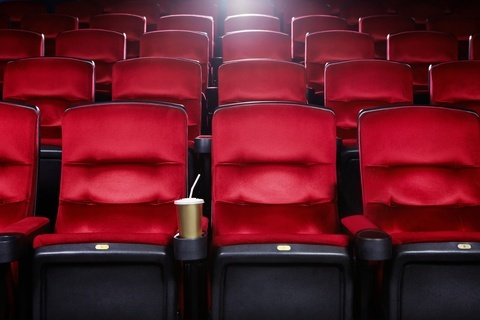 Private Back Row In Cinema