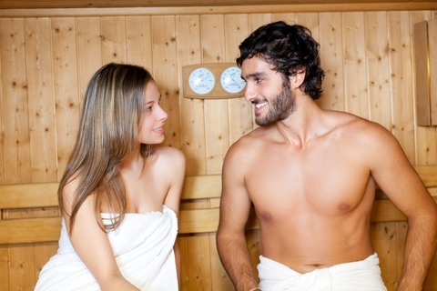 Sexy Thoughts In Sauna