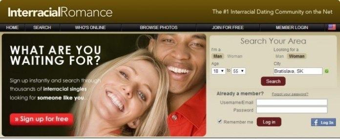 Website Called Interracial Romance