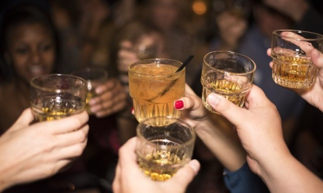 shots of alcohol