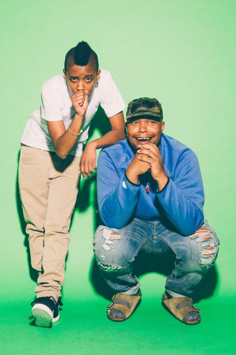 Syd tha Kid et Matt Martians - the Internet