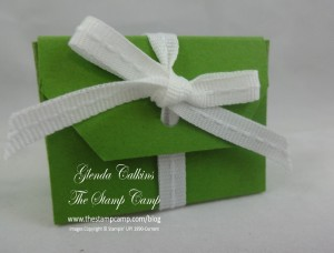 Angled Tag Topper Punch Box