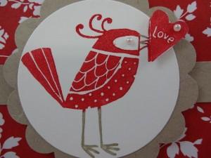 Love You More Bird Up Close