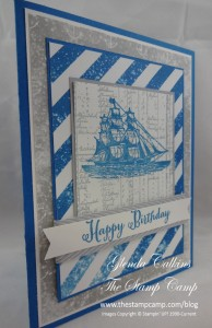 Stampin' Up! Masculine Open Sea