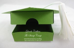 Graduation Hat box open