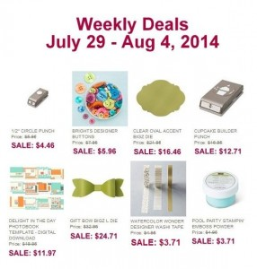 Weekly Deals for July 29 - August 4