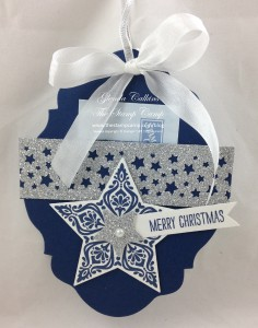 Bright & Beautiful Ornament Gift Card Holder