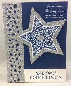 Bright & Beautiful stars stamp set