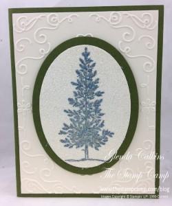 Lovely as a Tree Filigree folder