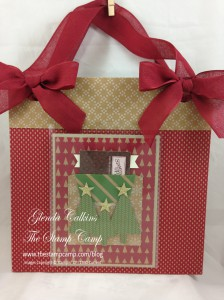 Bag and Card with gift card holder