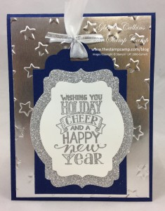 New Years Tag on Card