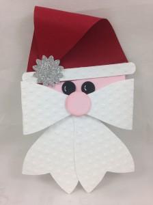 Santa bow die