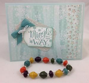 card and bracelet