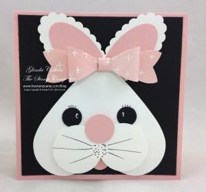 Bunny Gift Card Holder