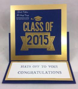 Graduation Easel Card