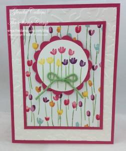 Bonus Card #2 Painted Petals