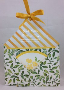 Daffodil Delight Double Pocket Pouch