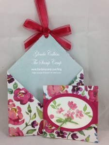Mother's Day pouch with Gift Card