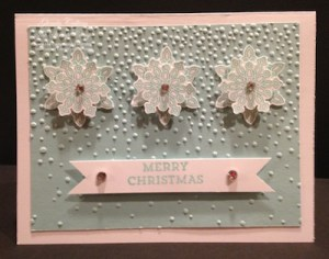 Stampin' Up! Snow Flurry Punch