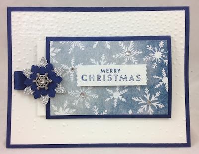 Snow Flurry gift card holder