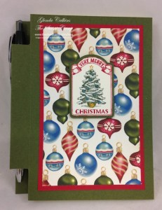 Home for Christmas Sticky Notepad Holder