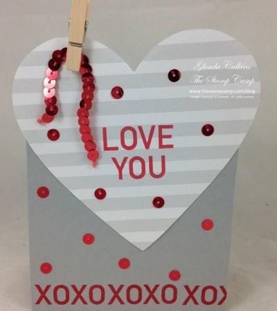 Heart gift:treat holder