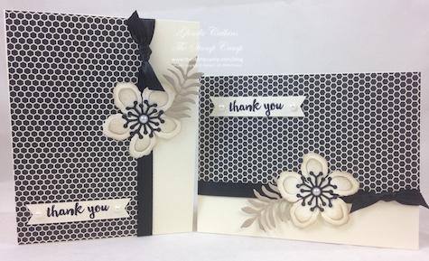 2 Cards Pretty Petals