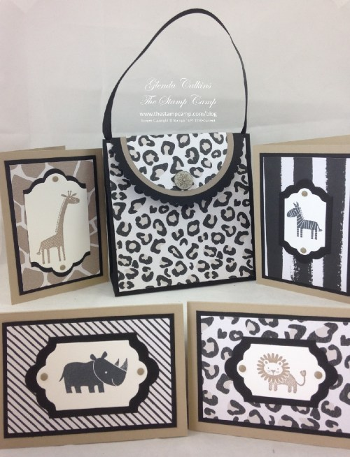 Tote and Zoo Baby Notecards