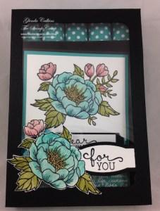 Birthday Blooms June Featured Stamp Set