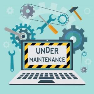 Blog Maintenance Happening!