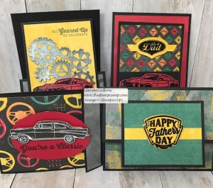 Geared Up Garage My Featured Stamp Set for May!